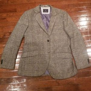 TailorByrd Sport Jacket 40R Grey. Double Vent.